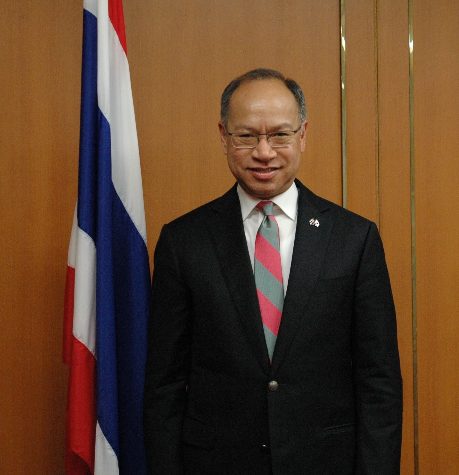 Mr. Munin Paniswasdi, Consul-General, Royal Thai Consulate-General, Osaka