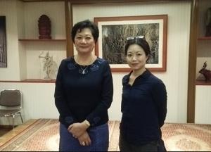 カンボジア大使と